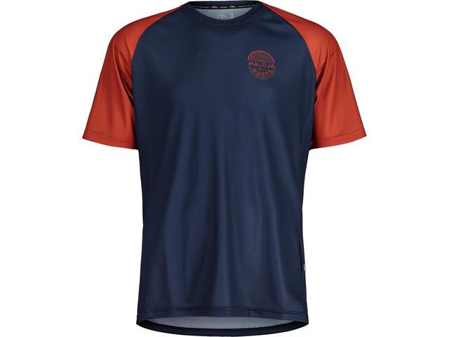Maloja StachelbeereM. Multi Short Sleeve Multisport Jersey Men, azul
